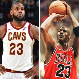 Top 4 Reasons why you, YES YOU, should stop trying to compare LeBron James to Michael Jordan.